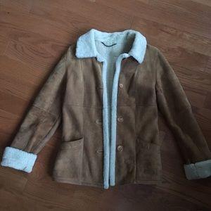 Jackets & Blazers - Genuine Shearling Coat